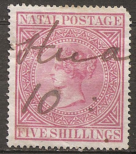 natal colonia inglesa buen valor de catálogo año 1874
