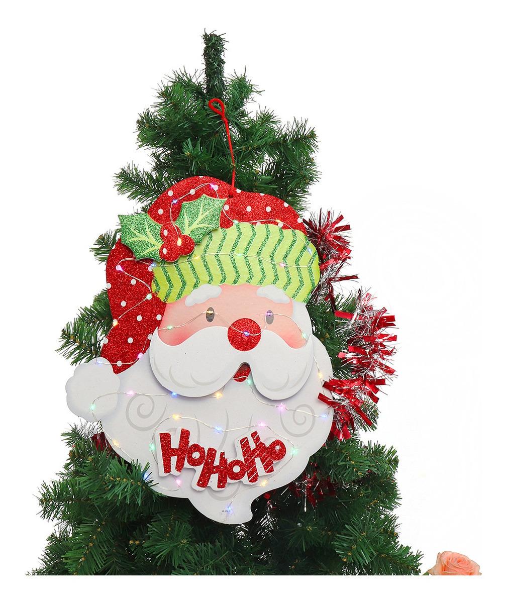 Natal Papai Noel Paper Board Enfeites
