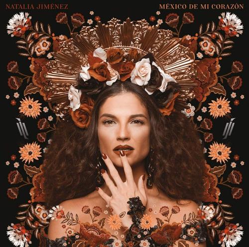 natalia jimenez - mexico de mi corazon -  disco cd + dvd