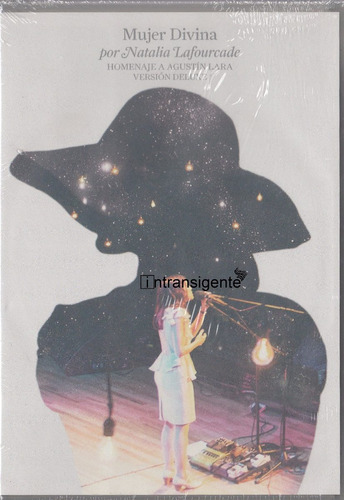 natalia lafourcade - mujer divina (deluxe dvd + cd)