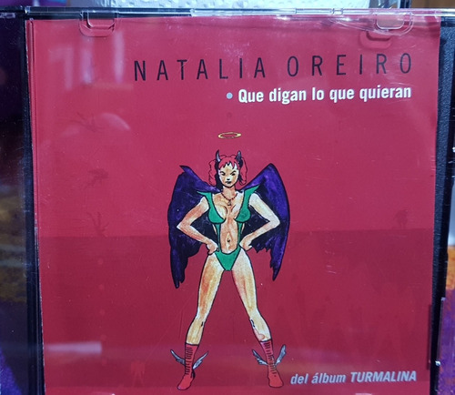 natalia oreiro cd single que digan lo que quieran
