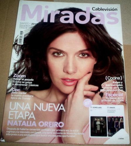 natalia oreiro revista miradas año 2012 imperdible