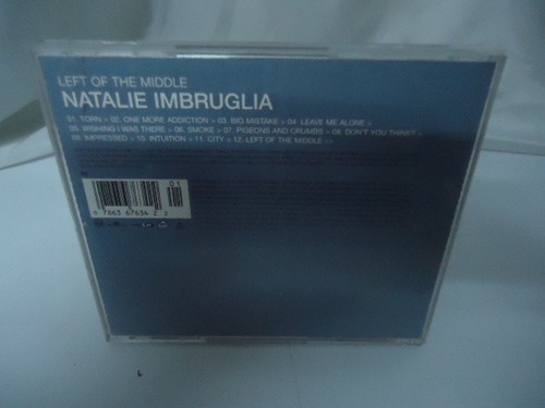 natalie imbruglia - cd album - left of the middle