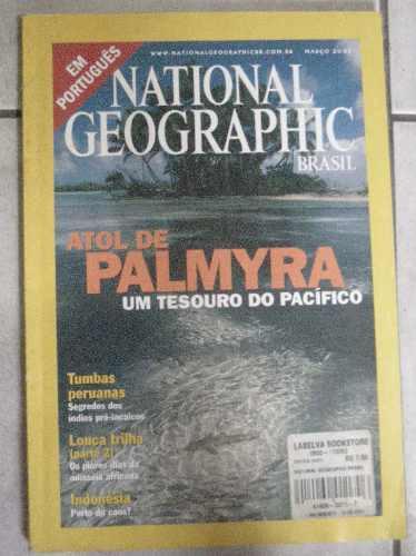 national geografhic brasil-março 2001