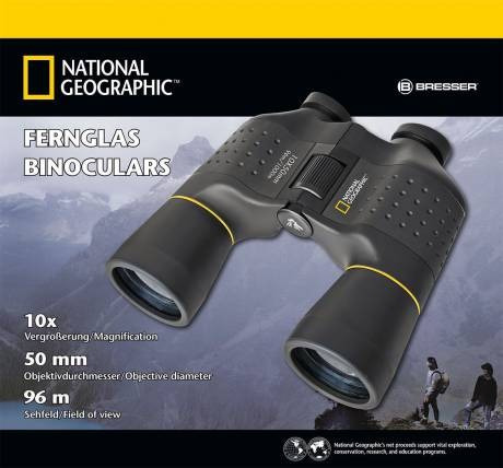 national geographic binoculares 10x50  estuche y correa