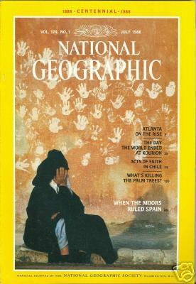 national geographic                              july   1988