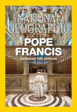 national geographic - pope francis. revista en inglés