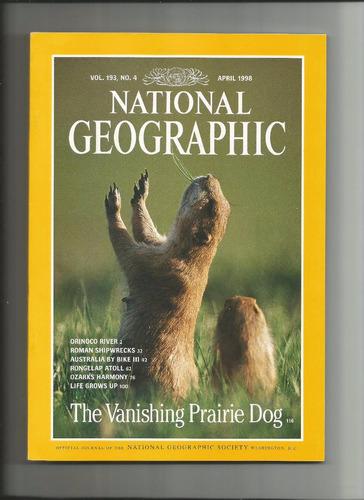 national geographic - revista - 1998 - april