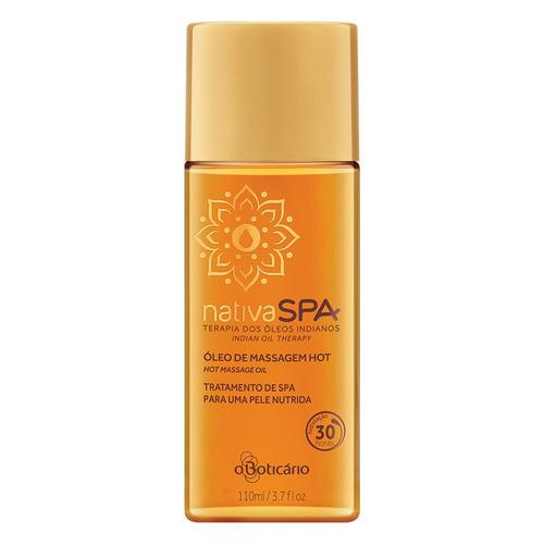 nativa spa óleo de massagem desodorante corporal terapia dos