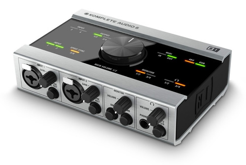 native instruments komplete audio 6 interfaz premium audio