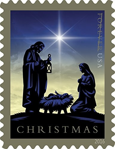 natividad usps forever first class postage stamp eeuu sagrad