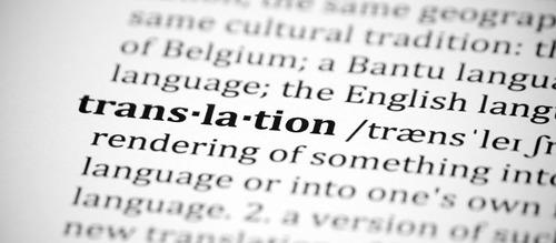 nativo de inglés ofrece servicio de traducción