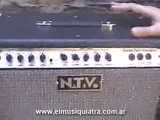 nativo guitarra. amplificador