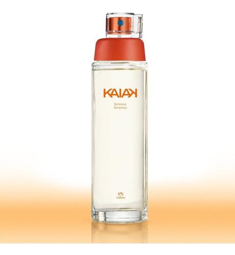 natura deo colônia kaiak feminino 100ml - validade: 09/2021