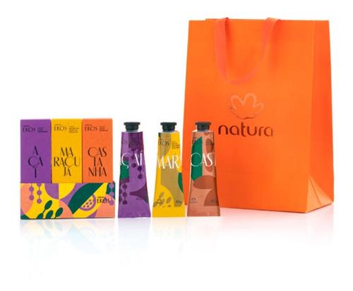 natura ekos kit regalo crema de manos - ana de natura