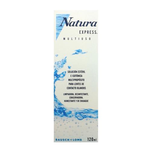 natura express 120 ml liquido multiproposito lentes contacto