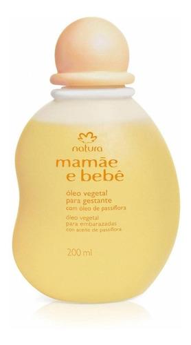 natura mamãe e bebê óleo vegetal para banho