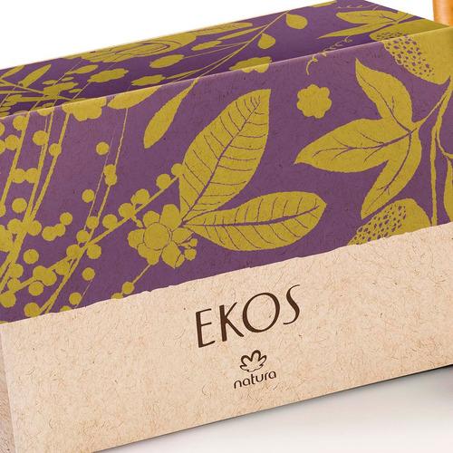 natura sabonete em barra esfoliante ekos - 4x100g