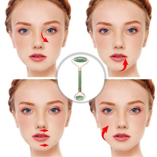 natural guasha masaje gua sha raspado facial jade roller tab