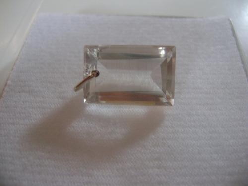 natural pedras pingente cristal com prata belíssimo