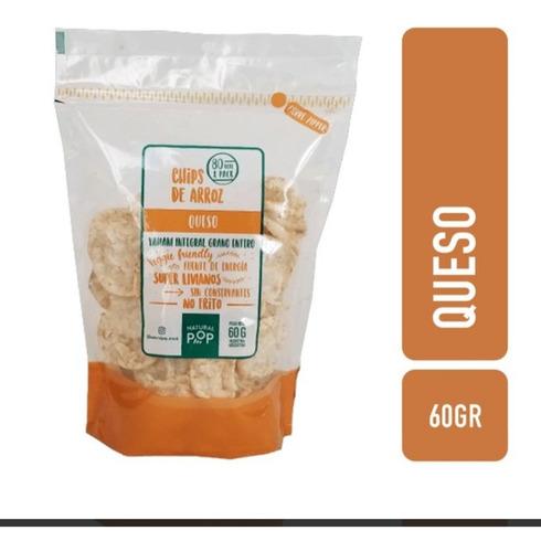 natural pop snacks de arroz yamani integral (caja 21 uni)