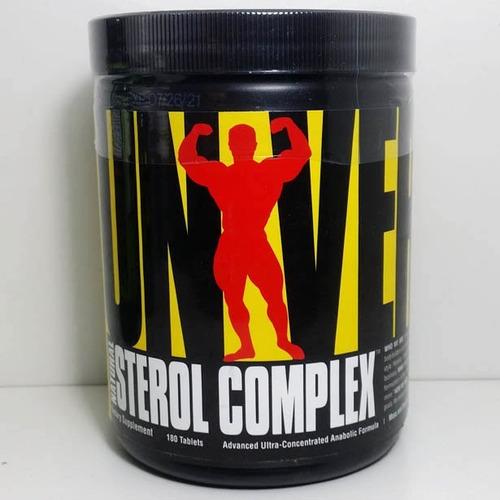 natural sterol complex 180 tabs universal original eua