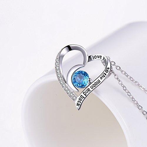 natural suizo azul topacio piedras preciosas corazón birt...