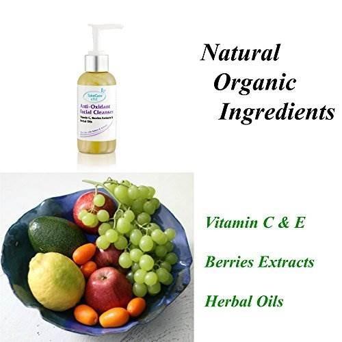 natural vitamin c gentle face wash con extractos de bayas