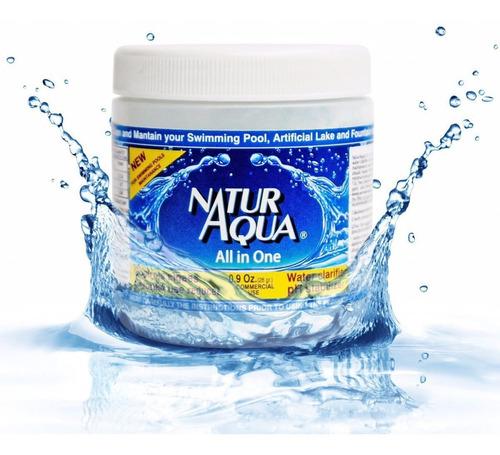 naturaqua all in one tratamiento ecologico para piscinas
