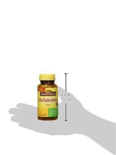 nature made maximum strength melatonin 5 mg