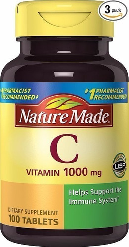 nature made vitamin c 1000mg timed release with rose pack 3