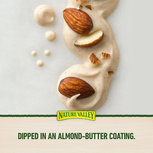 nature valley barras de granola, nueces y almendras (48 uni)