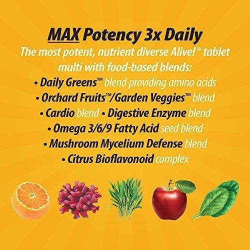 nature x26 39 s way alive max3 daily multivitaminas