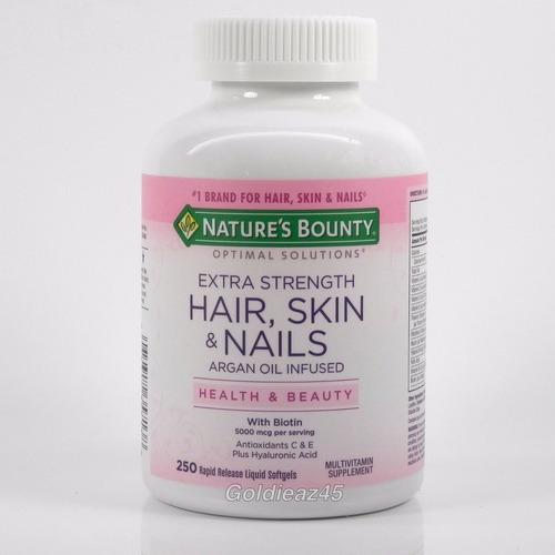 nature´s bonty - vitamina - pele,cabelo e unhas