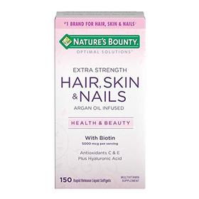 Nature's Bounty Optimal Solutions Hair Skin Andamp;