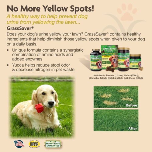 naturvet 120 count jar grass ahorro soft chews con enzimas p