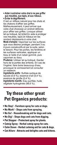 naturvet no scratch spray para gatos, 16 onzas