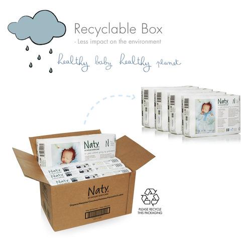naty by nature babycare pañales desechables ecológicos de