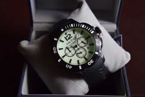 nautica bfd 101 n20059g tiempo exacto relojes