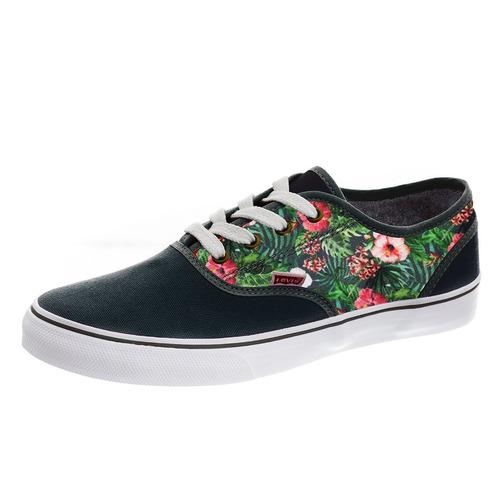 náutica - black/green - levi's footwear