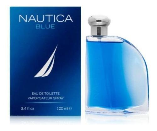náutica blue 100ml, caballero, 100% originales