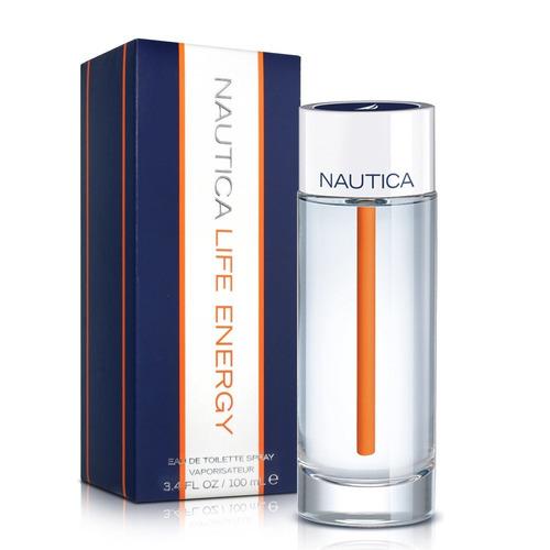 nautica life energy de hombre 100 ml ...original
