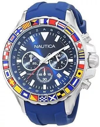 náutica masculino relógio