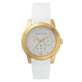 98cf7af03c8b Reloj Mujer Dorado Mujeres Nautica - Relojes Pulsera en Mercado Libre Chile