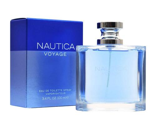 nautica voyage hombre 3.4oz (100.ml) sellada original
