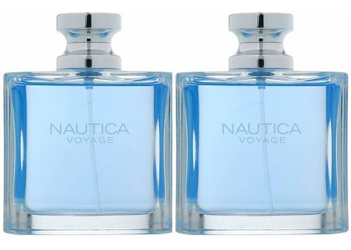 nautica voyage paquete 2x1  para caballero 100% originales.