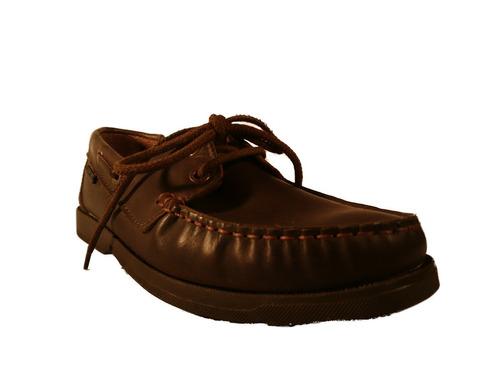 nautico cordon hombre cuero cosido obvio en shoestore