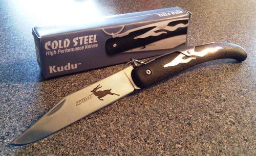 navaja caceria marca kudu cold steel envio incluido