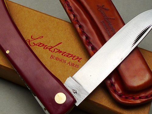 navaja/ cuchillo artesanal asado solingen/ germany