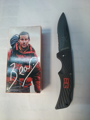 navaja cuchillo gerber bear grylls deporte pesca camping